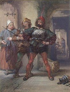 Corporal Nym character in The Merry Wives of Windsor and Henry V