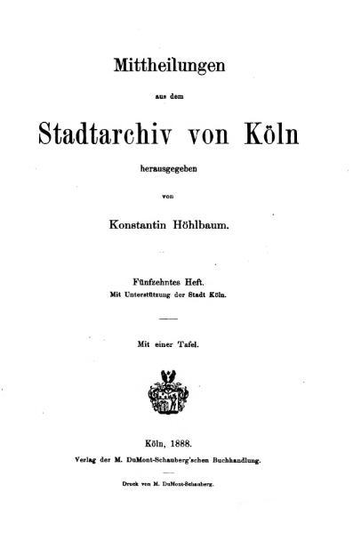 File:Mitteilungen aus dem Stadtarchiv von Köln 1888-15.djvu