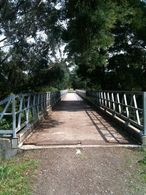 Yallourn railway line - Bridge on the Moe-Yallourn Rail Trail