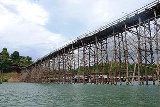 Sangkhla Buri District - The Mon Bridge