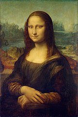Mona Lisa, by Leonardo da Vinci, from C2RMF Repaired.jpg