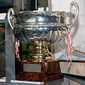 Monaco GP 1996 winners trophy Honda Collection Hall.jpg