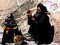 Monk at Gangotri Temple.jpg