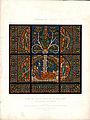 Monografie de la Cathedrale de Chartres - Atlas - Vitrail del arbre de Jesse Feuille A - Chromolithographie.jpg