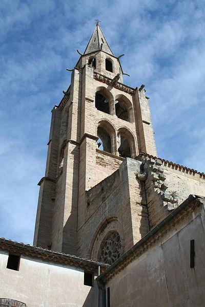 Montagnac (Hérault) - Saint-André - clocher.