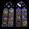 Montbrison-Collégiale Notre Dame d'Espérance-20110209-Vitrail Sacré coeur.jpg