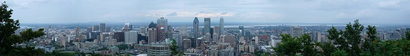Файл:Montréal Skyline seen from Chalet du Mont-Royal.jpg