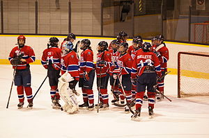 Les Canadiennes de Montreal - Montreal Stars, a Champions' great team