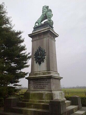 Frederick William, Duke of Brunswick-Wolfenbüttel - Image: Monument Brunswick Baisy Thy