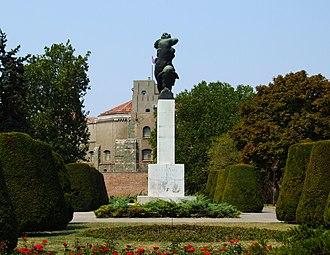 Kalemegdan Park - Image: Monument of Gratitude to France in Belgrade