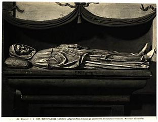 tombeau de Bartolomeo Aragazzi