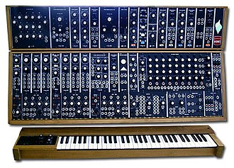 Modular synthesizer - A Moog 55 (c. 1972 to c. 1981)