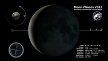 चित्र:Moon Phase and Libration, 2013.ogv