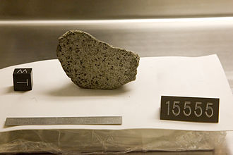 Stolen and missing moon rocks - Sample from NASA's lunar surface collection at Johnson Space Center's vault in Houston, Texas