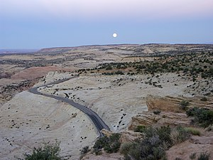 300px Moonrise over Escalante wilderness Colorado man found after 3 weeks in Utah desert