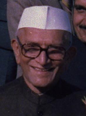Morarji Desai (portrait)