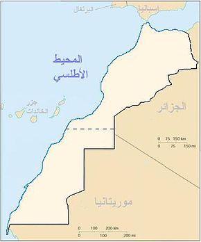 يا بنات ادخلوا لاعرفكم على مدينتي مراكش الحمراء 290px-Morocco_map_Arabic