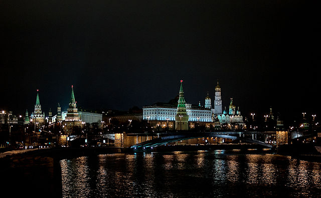 The Kremlin by AlixSaz (Own work) [CC BY-SA 4.0 (http://creativecommons.org
