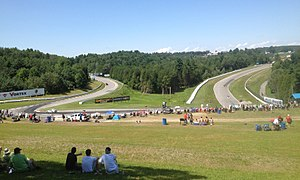 Canadian Tire Motorsport Park - Moss Corner – Turn 5a and 5b.
