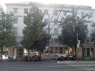 Motorradparkplatz Augsburg Fuggerstraße Höhe Königsplatz