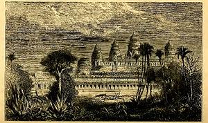 Henri Mouhot - Henri Mouhot drawing: Angkor Wat