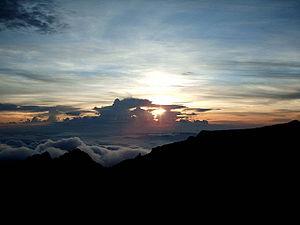 Mount Kinabalu Clouds 3