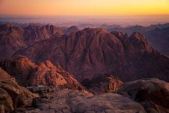 Mount Sinai - The summit of Mount Sinai