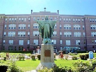 Mount Saint Charles Academy School in Woonsocket, , Rhode Island, United States