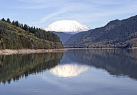 Mount St. Helens - Yale Lake - Washington State 1981.jpg