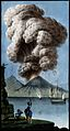 Mount Vesuvius emitting a column of smoke after its Wellcome V0025302.jpg