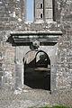 Moyne Friary Nave West Gable Classical Doorway 2013 09 10.jpg