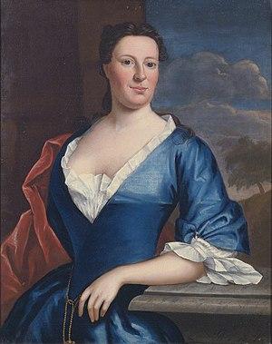 Tench Francis Sr. - Elizabeth Francis (1708-1800) (Robert Feke, circa 1748)