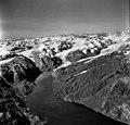 Muir Glacier, Muir Inlet and tidewater glacier in the background, and hanging glacier, September 12, 1980 (GLACIERS 5751).jpg