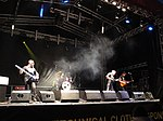 Music performances at Cowes Yacht Haven during Cowes Week 2011 4.JPG
