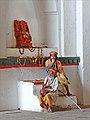 Musicien aveugle à lentrée du Chaturbhuj Temple (Orchha) (8450516883).jpg