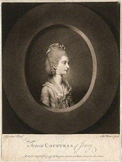 Frances Villiers, Countess of Jersey Mistress of George IV