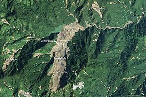 Cyclone Komen - Image: Myanmar Landslide 2015 (after)