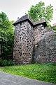 Nürnberg, Stadtbefestigung, Spittlertormauer, Kasemattenturm XX 20170616 002.jpg