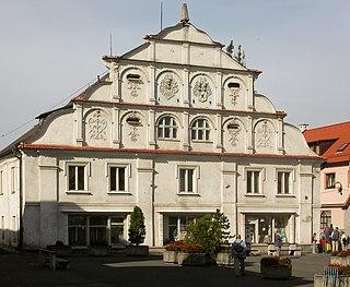 Nýrsko Town in Plzeň, Czech Republic