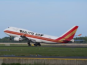 N742CK Kalitta Air Boeing 747-446(BCF), takeoff from Schiphol (AMS - EHAM), The Netherlands, 18may2014, pic-3.JPG