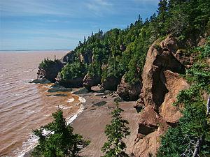 Hopewell Rocks, Bay of Fundy, New Brunswick, C...