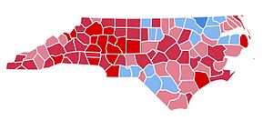 United States presidential election in North Carolina, 1984 - Image: NC1984