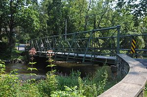 Hampton, New Jersey - New Hampton Pony Pratt Truss Bridge