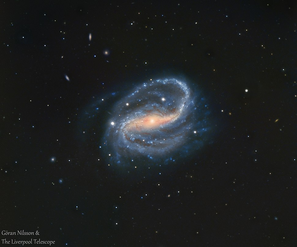 NGC7479 Goran Nilsson %26 The Liverpool Telescope