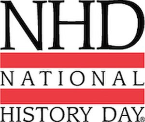 National History Day - Image: NHD Logo R Blk PMS185 v 2 web