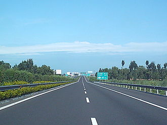 6th Ring Road (Beijing) - The Northeastern 6th Ring Road (July 2004 image)