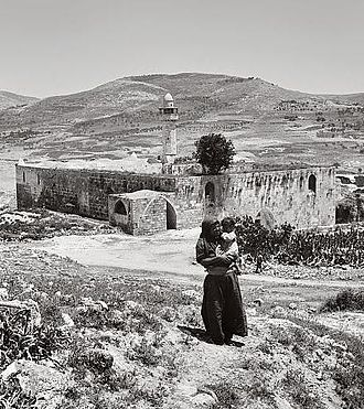 John the Baptist - Nabi Yahya Mosque, the traditional burial site in Sebastia, near Nablus, the West Bank, the Levant.