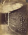 Nadar, The Catacombs of Paris. The Final Gallery., 1861.jpg