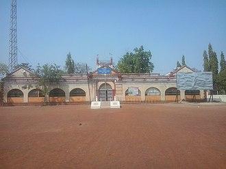 Bramhapuri - Nagar Parishad building in Bramhapuri