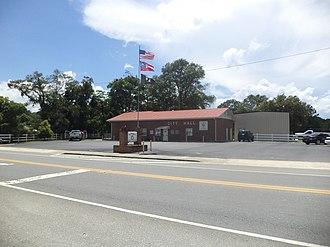 Nahunta, Georgia - Nahunta City Hall